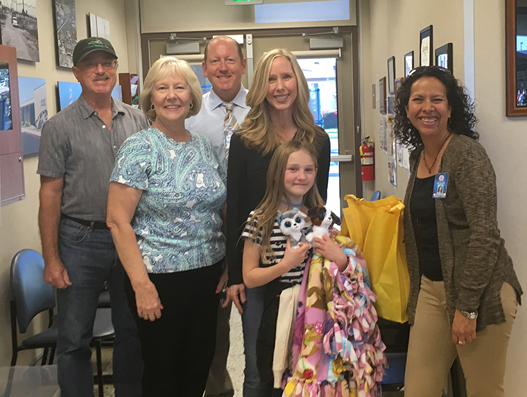 Cypress children's advocacy council makes donation