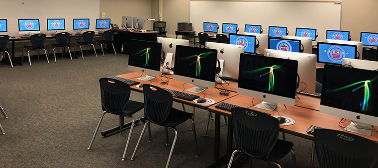 computers in classroom